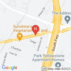 Mapa MAINSTAY SUITES TEXAS MEDICAL CENTER/RELIANT PARK