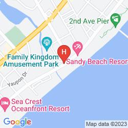 Mapa WYNDHAM OCEAN BLVD.