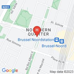 Mapa HUSA PRESIDENT PARK