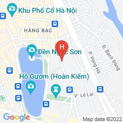 Mapa AUTHENTIC HANOI BOUTIQUE HOTEL