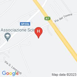 Mapa BEST WESTERN PARK