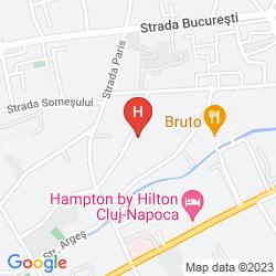 Mapa WEST CITY