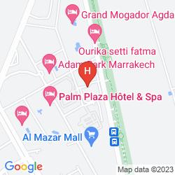 Mapa ZALAGH KASBAH HOTEL & SPA