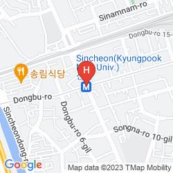 Mapa J'S HOTEL