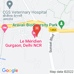 Mapa LE MERIDIEN GURGAON, DELHI NCR