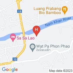 Mapa NAM KHAN VILLAS RESORT