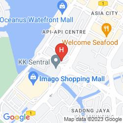 Mapa TANG DYNASTY