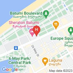 Mapa SHERATON BATUMI HOTEL