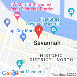 Mapa THE BOHEMIAN HOTEL SAVANNAH RIVERFRONT, AUTOGRAPH COLLECTION