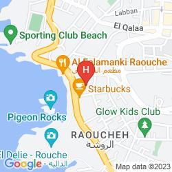 Mapa RAOUCHE ARJAAN BY ROTANA