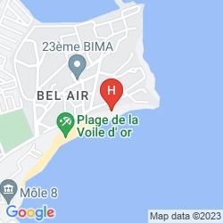 Mapa LA VOILE D'OR