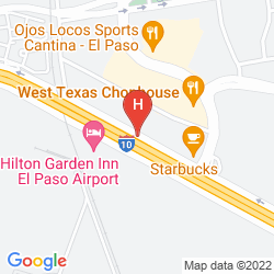Mapa BEST WESTERN PLUS EL PASO AIRPORT HOTEL & CONFERENCE CENTER