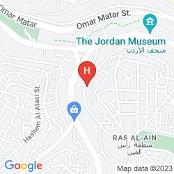 Mapa RAMADA HOTEL AND SUITES AMMAN