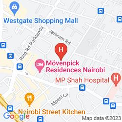 Mapa PRIDE INN RHAPTA