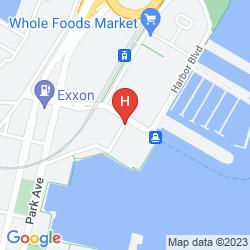Mapa SHERATON LINCOLN HARBOR
