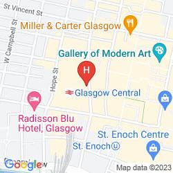 Mapa RENNIE MACKINTOSH STATION