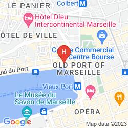 Mapa LA RESIDENCE DU VIEUX PORT