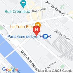 Mapa MERCURE PARIS GARE DE LYON