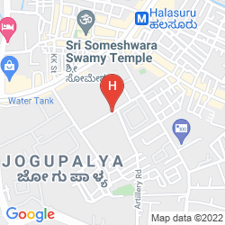 Mapa SWAGATH SUITES