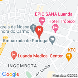 Mapa SKYNA HOTEL