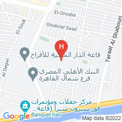 Mapa HILTON CAIRO HELIOPOLIS