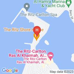 Mapa THE RITZ–CARLTON RAS AL KHAIMAH, AL HAMRA BEACH