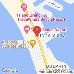 Mapa GRAND PLAZA BEACHFRONT