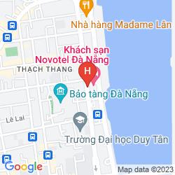 Mapa NOVOTEL DANANG PREMIER HAN RIVER