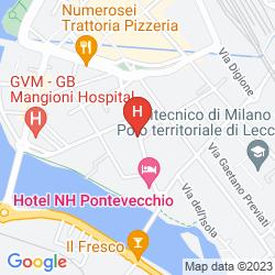 Mapa NH LECCO PONTEVECCHIO