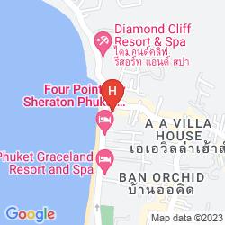 Mapa B-LAY TONG PHUKET