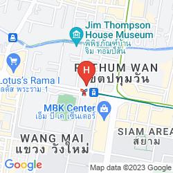Mapa IBIS BANGKOK SIAM