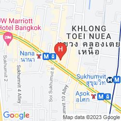 Mapa ARMONI HOTEL SUKHUMVIT 11 BY ANDACURA