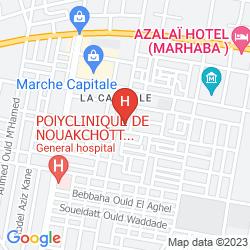 Mapa AZALAI HOTEL MARHABA