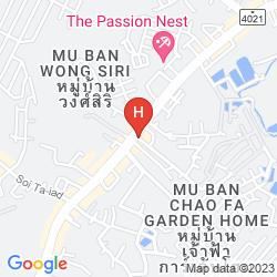 Mapa YUWADEE RESORT