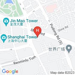 Mapa REGENT SHANGHAI PUDONG