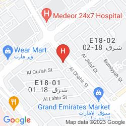 Mapa AL DIAR PALM HOTEL APARTMENTS