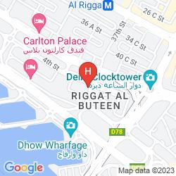 Mapa XCLUSIVE CLOVER HOTEL APARTMENTS