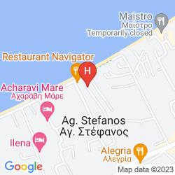 Mapa VA APARTMENTS