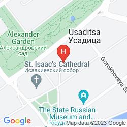 Mapa SO SOFITEL ST PETERSBURG
