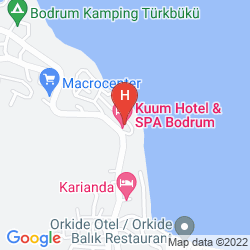 Mapa KUUM HOTEL & SPA