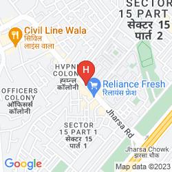 Mapa TULIP INN