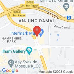 Mapa DOUBLETREE BY HILTON
