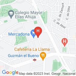 Mapa AC LOS VASCOS BY MARRIOTT