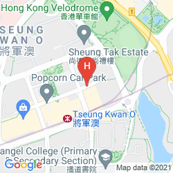 Mapa HOLIDAY INN EXPRESS HONG KONG KOWLOON EAST