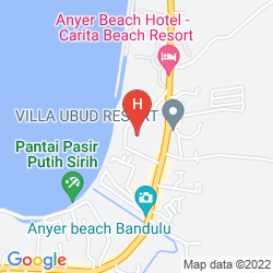 Mapa THE JAYAKARTA ANYER BOUTIQUE SUITE