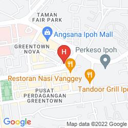 Mapa TUNE HOTEL IPOH