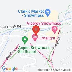 Mapa VICEROY SNOWMASS