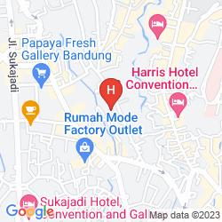 Mapa GRAND SERELA SETIABUDHI BANDUNG