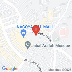 Mapa I HOTEL BATAM
