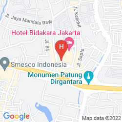 Mapa BIDAKARA